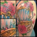 done Oksana Weber at Body and soul tattoo