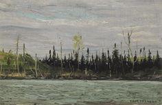 Tom Thomson Catalogue Raisonné   Canoe Lake, Algonquin Park, Fall 1916 (1916.130)   Catalogue entry