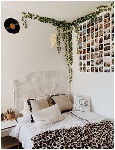 Room Design Bedroom, Room Ideas Bedroom, Bedroom Wall, Bedroom Inspo, Bedroom Quotes, Diy Wall Decor For Bedroom, Dorm Room Walls, Indie Room, Cozy Room