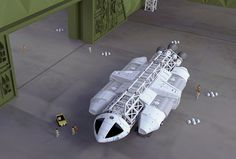 Space 1999 WARP Eagle concept. #space1999 #2001