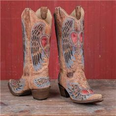 Corral Heart and Wings Boots $249.95