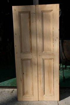 アンティーク小さなパインドア扉セット英国製82 3 インテリア 雑貨 家具 Antique pine wood ¥38000yen 〆04月25日
