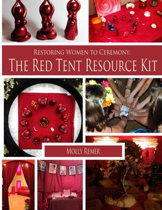 Red Tent Resource Kit book only by BrigidsGrove on Etsy