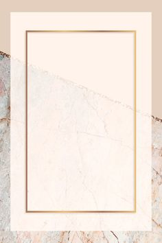 Download premium vector of Rectangle frame on pastel orange marbled