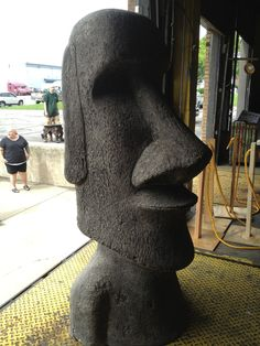 Easter Island statue sold at 2013 Sale!