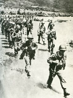 4 August - 16 September 1950 - A total of 84,478 U.S. troops participate in the defense of the Pusan Perimeter including the U.S. Army's 1st Cavalry Division, 2nd, 24th, and 25th Infantry Divisions and the 1st Provisional Marine Brigade.