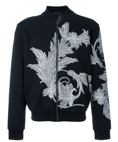 Versace  Veste brodée en coton