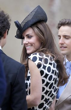 Kate Middleton Photos - Kate and Pippa Middleton at the wedding of Sam Waley-Cohen and Annabel Ballin  - Zimbio
