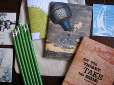 Earmark's Adventurer's Travel Pack Gift Set! What Fun! Journals, pencils and more!