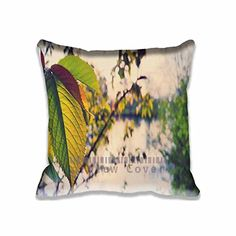 Nature Unique Throw Pillow Covers Print  Bokeh Pillows Bedroom Cotton Case Aero Decorative Pillowcase Set for Home and Hotel * This is an Amazon Affiliate link. See this great product.