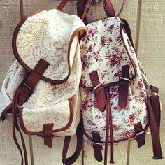 lovely bagbacks!! :)