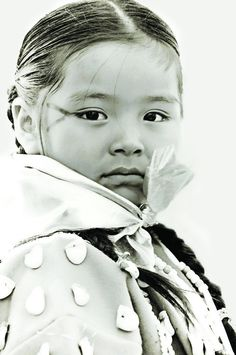 Erika Haight captures the innocence and strength of a Native American child in her winning portrait.