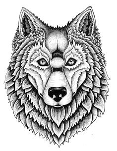 Wolf Pack Tee on Behance