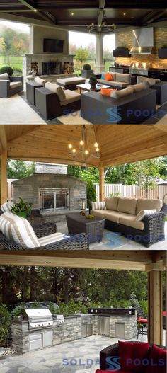 outdoor spaces with pools - Google Search