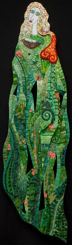 Primavera by Irina Charny.  Her studio is in Costa Mesa, CA.  This is even more impressive in person