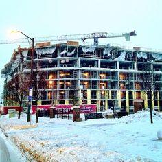 "@einarrice's photo: ""#construction #building #architecture #crane #highrise"""