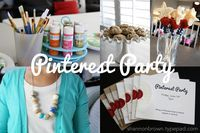 find joy in the journey: a pinterest party