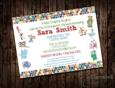 Storybook Baby Shower Invitation by ElevatedEvents on Etsy