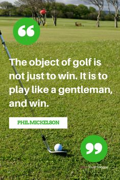 The best golf quotes
