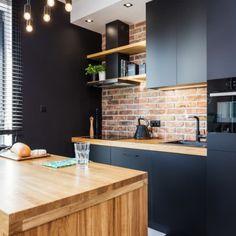 Industrial Kitchen Design, Kitchen Room Design, Modern Kitchen Design, Dining Room Design, Kitchen Interior, Home Design Decor, Dream Home Design, House Design, Home Decor