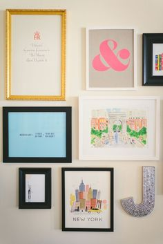Jacqueline Clair's NYC Studio Tour // home // decor //  // decorating on a  // gallery wall // Photography by Kate Ignatowski