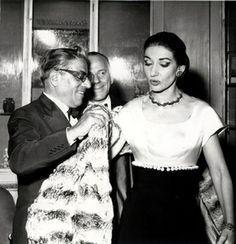 La Divana, Maria Callas with Onassis