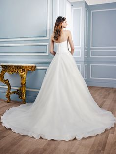 Wedding gown by Moonlight Tango
