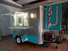"5 x 8 Dessert Cart ""Retro"" Mobile Food Truck Concession Trailer Ships 3 Weeks 