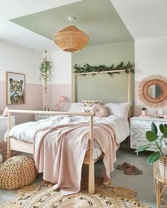 Ten boho bedroom ideas to help you design your own inviting space. Boho Bedroom Diy, Cozy Bedroom, Bedroom Decor, Bedroom Ideas, Bedroom Shelves, Bedroom Signs, Master Bedroom, Wall Decor, Bedroom Paint Colors