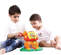 PLS Baby Music Mushroom House Electronic Learning Toy -- Visit the image link more details.