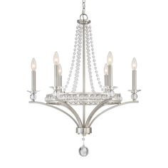 Shop Quoizel  BWS5006BN Brightwaters 6-Light Chandelier at ATG Stores. Browse our chandeliers, all with free shipping and best price guaranteed.