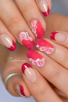 bijou résine 3d fleurs