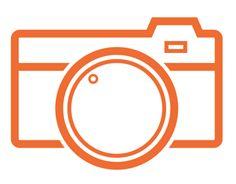 Camera Icons Kamera Tattoos, Camera Icon, Print Magazine, Pictogram, Glyphs, Logo Inspiration, Graphic Art, Letters, Cameras
