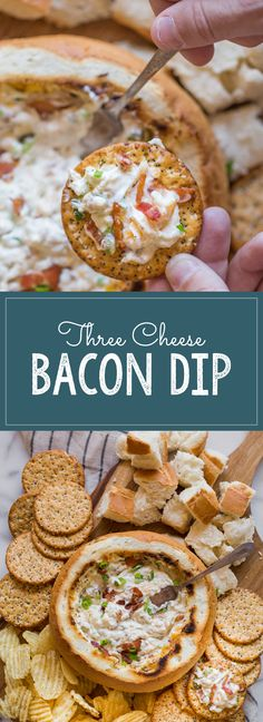 It's so easy to make, and I'm telling you - it is so irresistibly GOOD! (Bacon Dip Recipes)