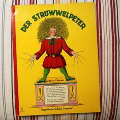 ♥ Der Struwwelpeter - Kinderbuch-Kult pur! ♥ von Retro Püppi auf DaWanda.com