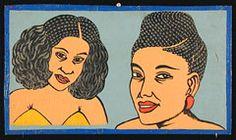 Hair-braider's Sign - Togo c.2000