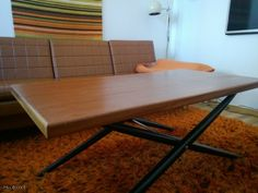 Teak -sohvapöytä / Teak coffee table