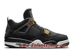 Air Jordan 4 Officiel pas cher Retro Royalty Or Homme noir Jordan 4, Jordans Sneakers, Air Jordans, Baskets Jordan, Basket Pas Cher, Royalty, Shoes, Officiel, Nike Shoes