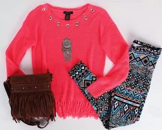 Love the colors and fun print! :-)