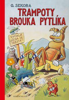 Brouk Pytlik by O. Sokora vintage children's by Mummysvintage Disney, Vintage Children's Books, Ex Libris, S Stories, Typography Prints, Amazing Adventures, Artist Names, Childrens Books, Illustrators