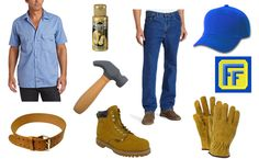 Fix-It Felix Jr. Costume parts and where to find them!!