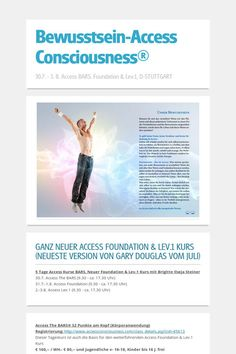 Bewusstsein-Access Consciousness® 5 Tage in D-Stuttgart vom 31.7.-3.8.2014