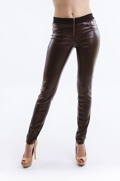 img Handmade Design, Leather Pants, Spring Summer, Sport, Elegant, Collection, Fashion, Leather Jogger Pants, Deporte