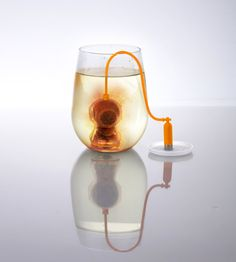 Deep sea diver tea infuser  http://www.wicked-gadgets.com/deep-sea-diver-tea-infuser/  #kitchen #gadgets