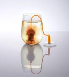 Deep sea diver tea infuser  http://www.wicked-gadgets.com/deep-sea-diver-tea-infuser/  #kitchen #gadgets