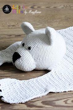 Gratis strikkeopskrifter og hækleopskrifter   Mayflower Garn Manta Crochet, Crochet Art, Crochet For Kids, Crochet Dolls, Crochet Patterns, Crochet Rugs, May Flowers, Knitted Blankets, Crochet Projects