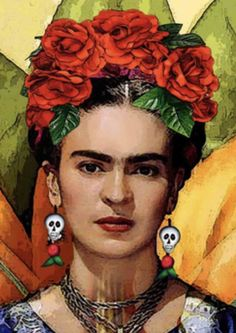 Famous Art Paintings, Mexican Paintings, Kahlo Paintings, Cool Paintings, Linocut Prints, Poster Prints, Art Prints, Block Prints, Frida Kahlo Portraits