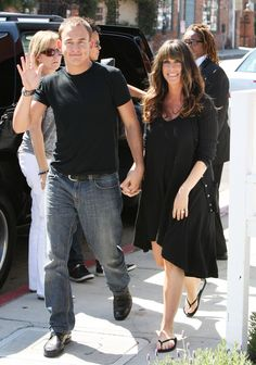 """Alanis Morissette and her husband Mario """"Souleye"""" Treadway smiled wide as they grabbed a drink after appearing on Chelsea Lately in LA yesterday. Alanis Morissette Husband, Jagged Little Pill, Chelsea Lately, Women In Music, Bridesmaid Dresses, Wedding Dresses, Cinema, One Pic, Interview"""