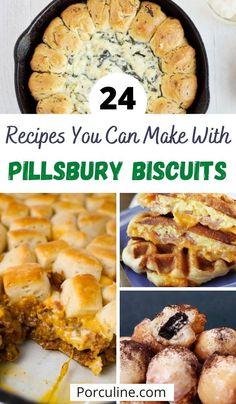 Recipes With Biscuit Dough, Grand Biscuit Recipes, Pillsbury Crescent Recipes, Roll Dough Recipe, Best Biscuit Recipe, Pillsbury Dough, Crescent Roll Recipes, Crescent Dough, Crescent Rolls
