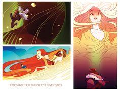 Dihuh Portfolio: Illustration #Illustration